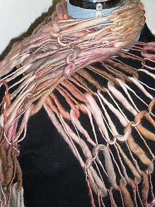 Pink scarf#1